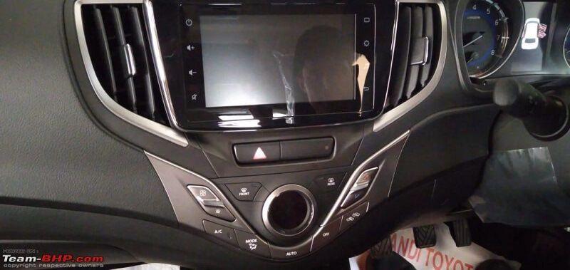 Toyota Glanza Touchscreen