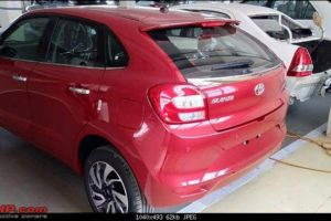 Toyota Glanza rear design