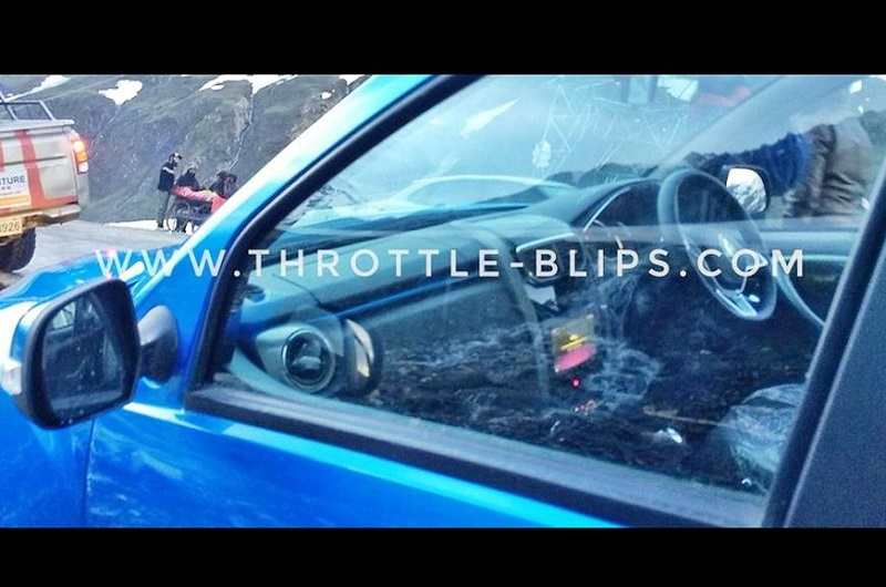 2019 Renault Duster Interior Spied 2