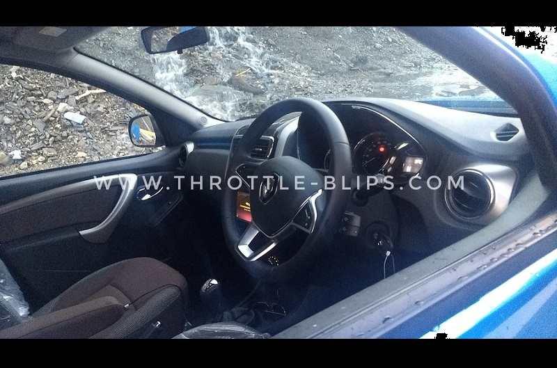 2019 Renault Duster Interior Spied