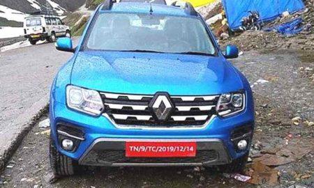 2019 Renault Duster facelift