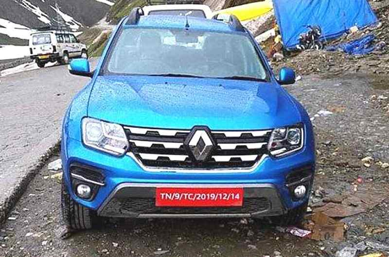 2019 Renault Duster facelift