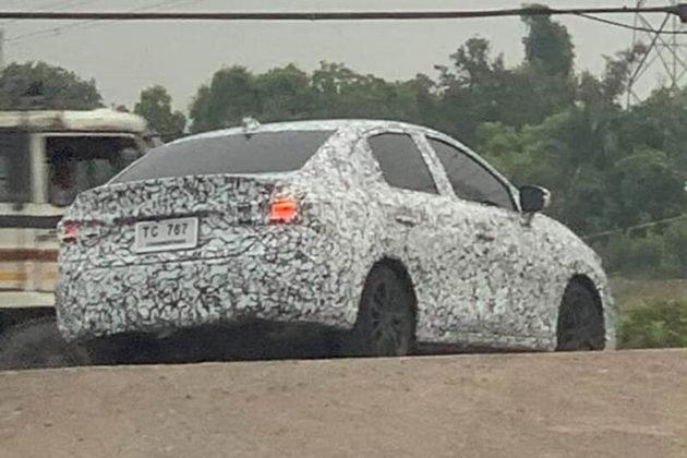 2020 Honda City spied 1