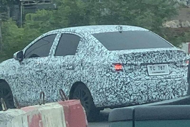 2020 Honda City spied 2