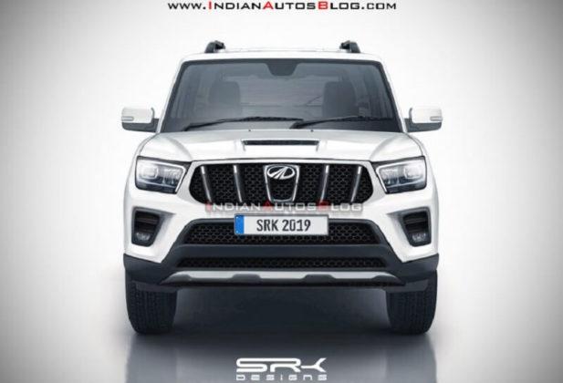 2020 Mahindra Scorpio Front Render (1)