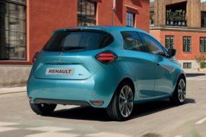 2020 Renault Zoe Range