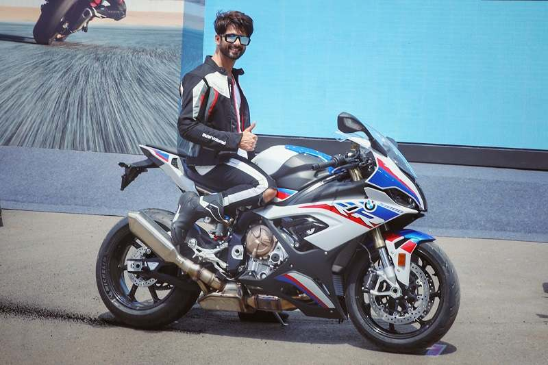 BMW S1000 RR Shahid Kapoor