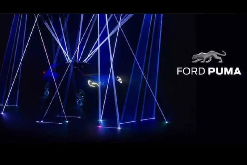 Ford Puma Crossover Teaser