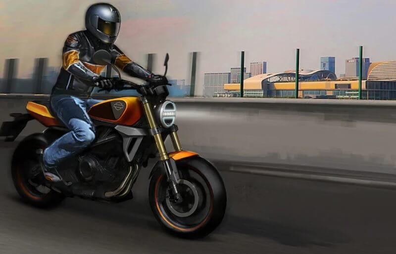 Harley Davidson 338cc Bike