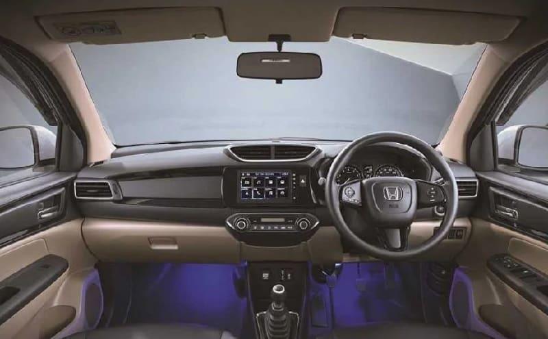 Honda Amaze Ace Edition Interior