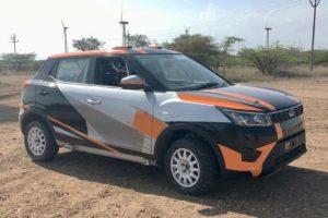 Rally-spec Mahindra XUV300 India