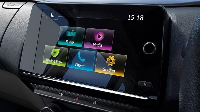 Renault Triber Touchscreen