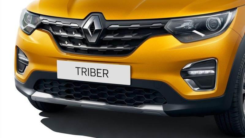 Renault Triber front grille