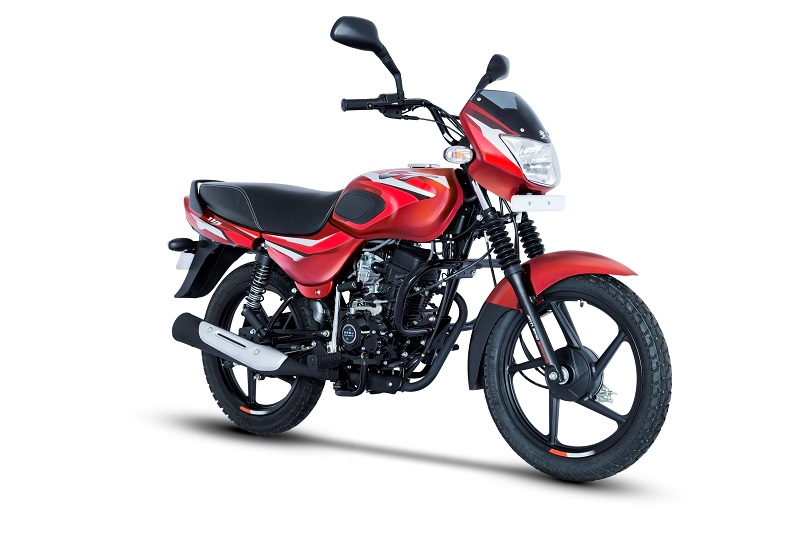 2019 Bajaj CT 110 Red