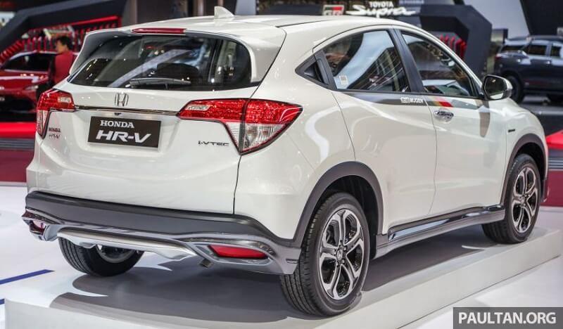 2019 Honda HR-V Mugen rear