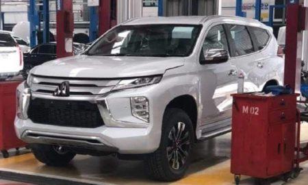 2019 Mitsubishi Pajero Sport Leaked