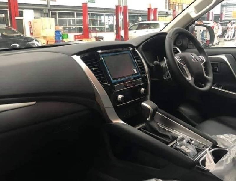2019 Mitsubishi Pajero Sport Leaked Interior