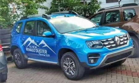 2019 Reanult Duster Facelift Blue Colour_1