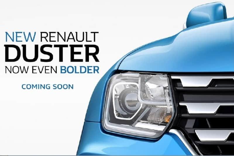 2019 Renault Duster Teaser