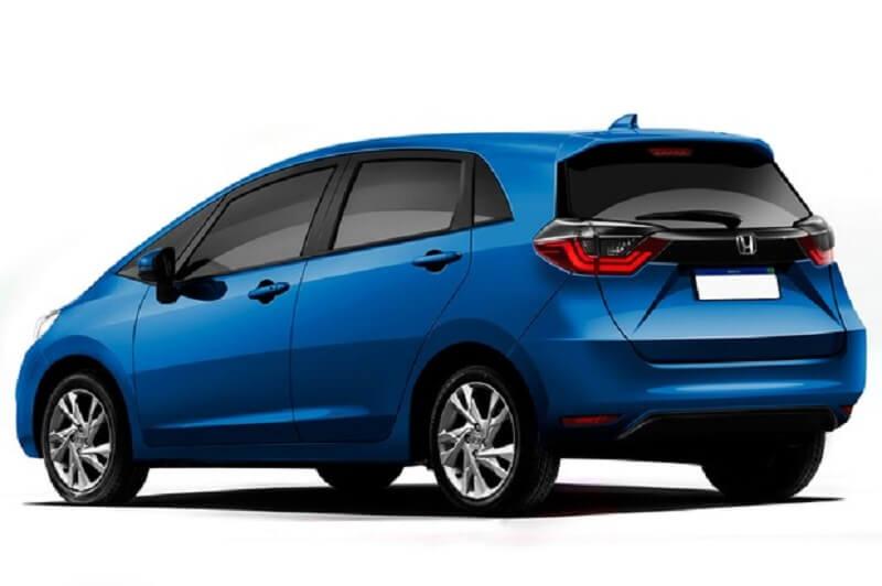 2020 Honda Jazz Rendered Rear