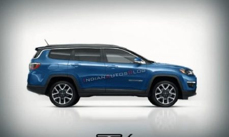 Jeep 7-Seater SUV Rendering