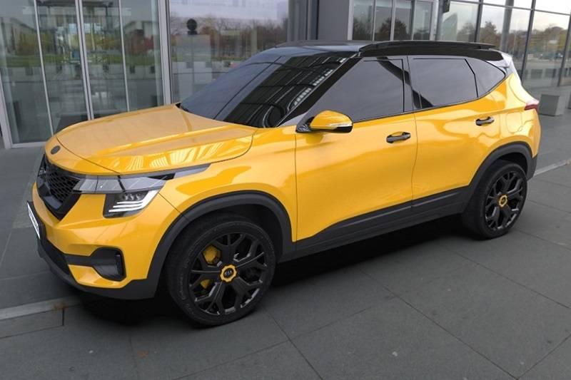 Kia Seltos Yellow