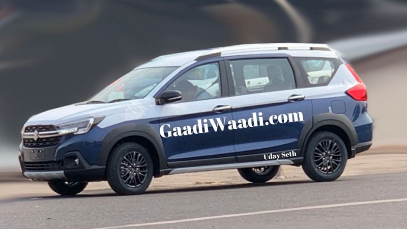 Maruti XL6 Side Profile Spied