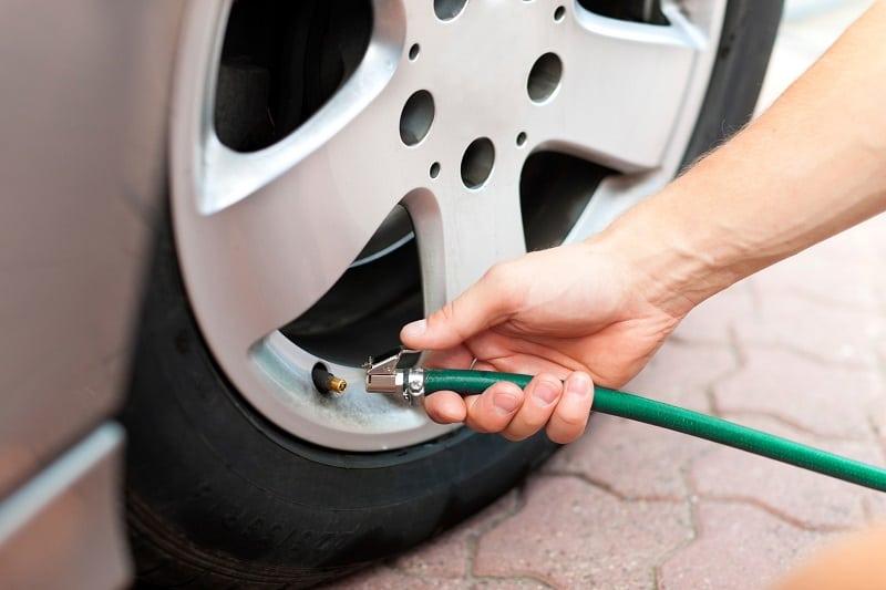 Nitrogen filled tyres mandatory