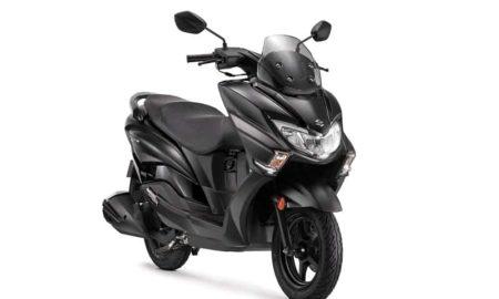 Suzuki Burgman Street_Matte Black Colour_1