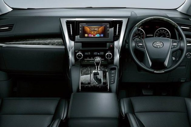 Toyota Vellfire India Features