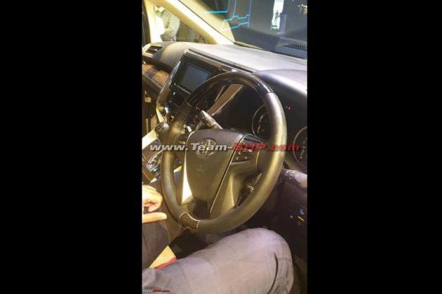 Toyota Vellfire India Interior