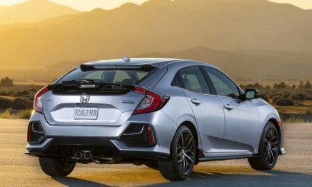 2020 Honda Civic Hatchback rear