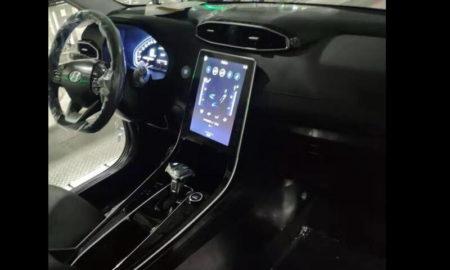 2020 Hyundai ix25 Interior Spied (1)