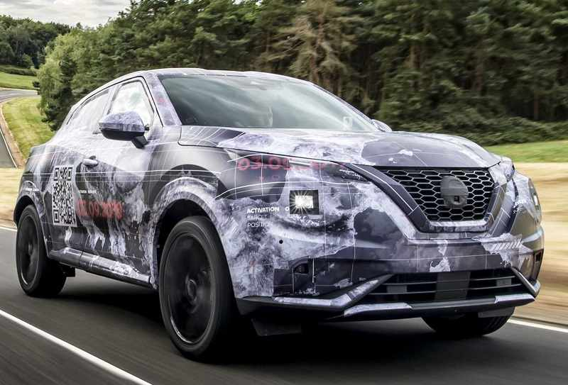 2020 Nissan Juke Suv Teasers Reveal Flamboyant Design
