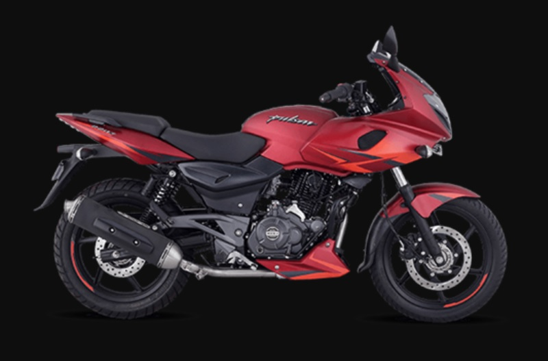 Bajaj Pulsar 220F Volcano Red Price