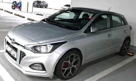 Hyundai i20N India spied (1)