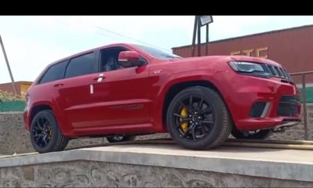 Jeep Grand Cherokee TrackHawk In India