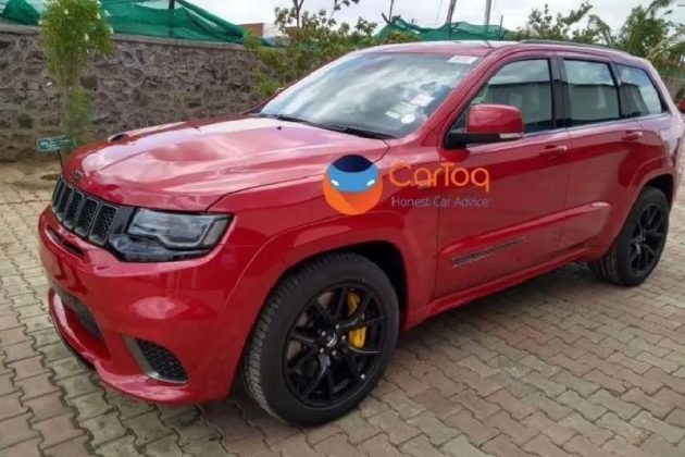 Jeep Grand Cherokee TrackHawk India