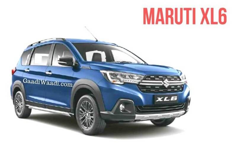Maruti XL6 Clear Leaked Image (1)