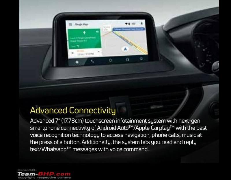 Tata Nexon New 7-inch touch