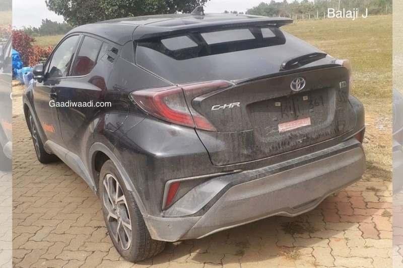 Toyota C-HR Spied India
