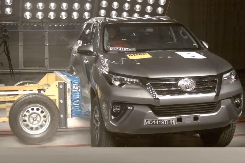 Toyota Fortuner Latin NCAP