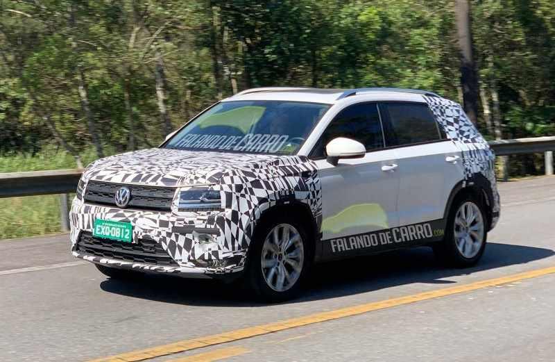 Volkswagen Tarek Spied