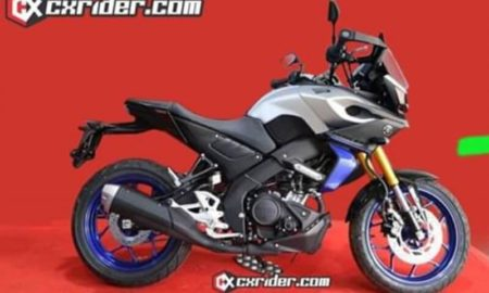 Yamaha MT-15 Tracer Rendering