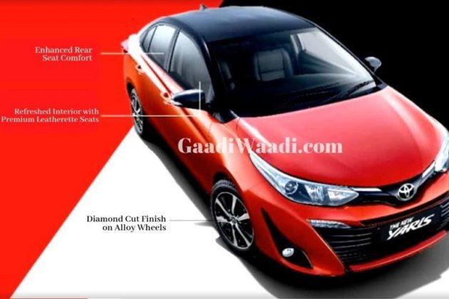 2019 Toyota Yaris Facelift