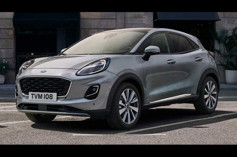 2020 Ford Puma Titanium X features
