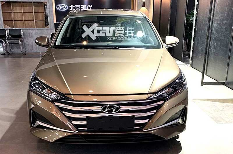2020 Hyundai Verna Leaked front