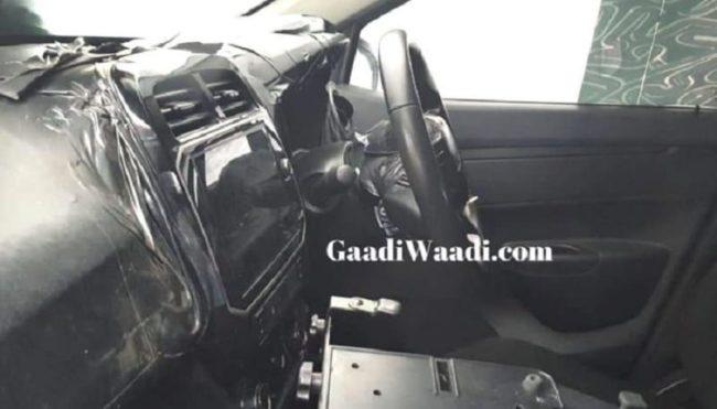 2020 Renault Kwid Interior