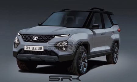 2020 Tata Safari Rendered