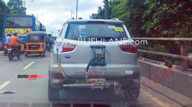 BS6 Ford Ecosport Spied
